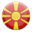 FYR Macedonia country flag