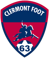Clermont Foot 63 team logo
