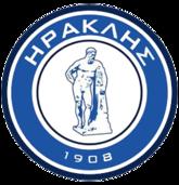 Iraklis 1908 FC team logo