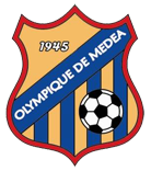 Olympique Medea team logo