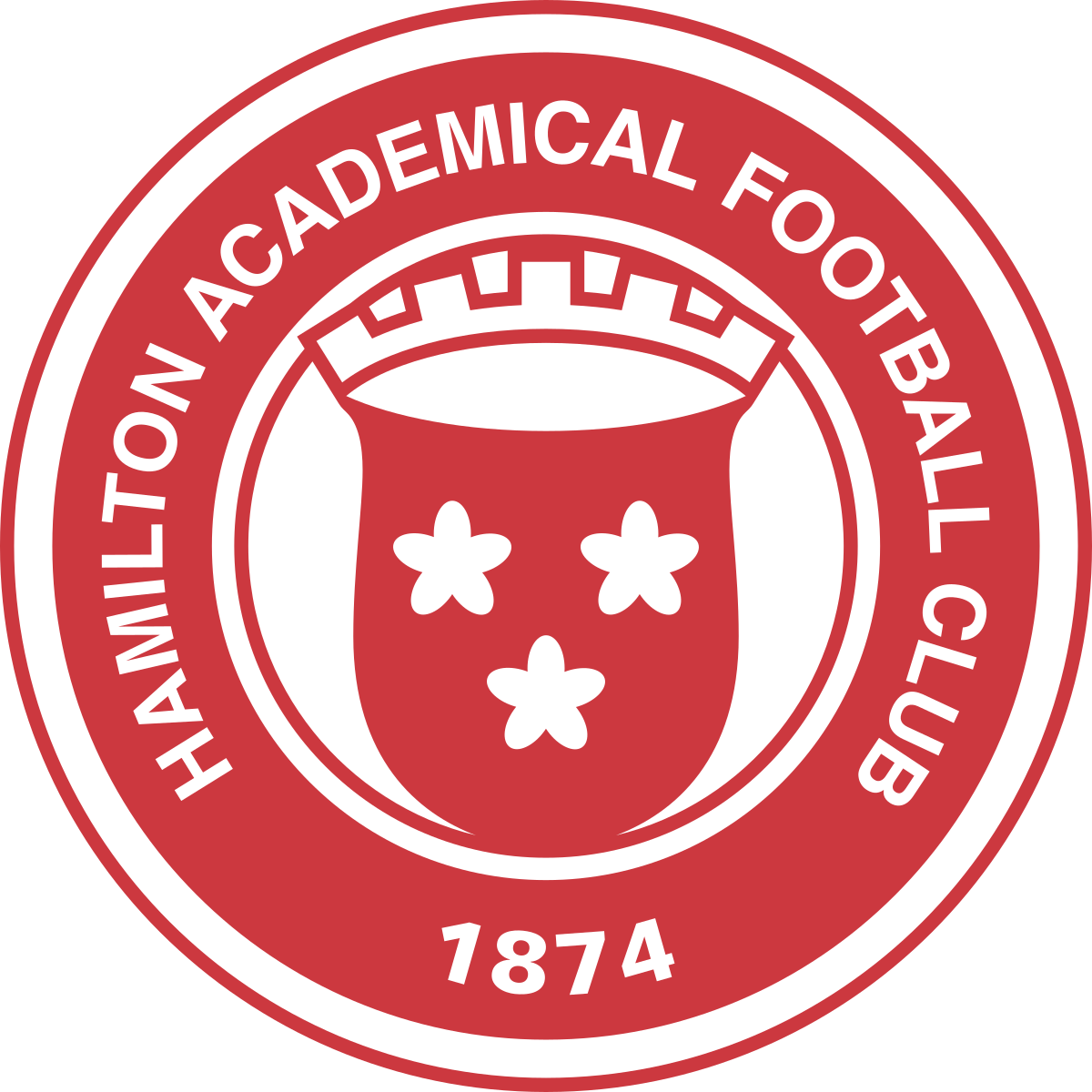 Hamilton Academical team logo