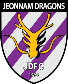 Jeonnam Dragons team logo