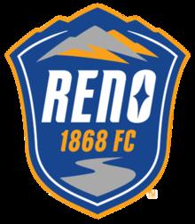 Reno 1868 FC team logo