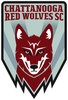 Chattanooga Red Wolves Sc team logo