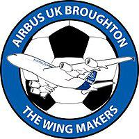 Airbus UK Broughton team logo