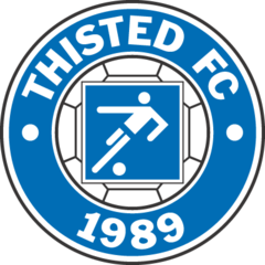Thisted FC team logo
