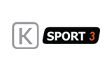 K Sport 3 / HD tv logo