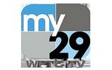 My 29 WFTC / HD tv logo
