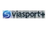 Viasport + tv logo