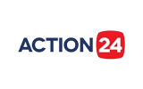 Action 24 tv logo