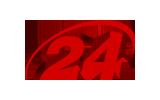 Channel 24 / HD tv logo
