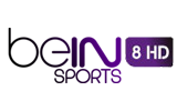 beIN Sports Mena 8 HD tv logo