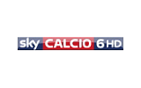 Sky Calcio 6 / HD tv logo