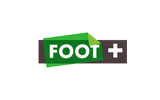 Foot+ / HD tv logo