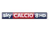 Sky Calcio 8 / HD tv logo
