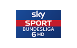 Sky Sport Bundesliga 6 / HD tv logo