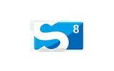 SUKACHAN 8 / HD tv logo