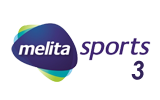 Melita Sports 3 tv logo