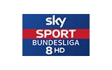 Sky Sport Bundesliga 8 / HD tv logo