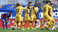 Eibar 0-3 Barcelona: Griezmann, Messi and Suarez ensure frantic week ends in comfortable win