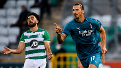 Shamrock Rovers 0-2 Milan: Ibrahimovic and Calhanoglu seal Rossoneri