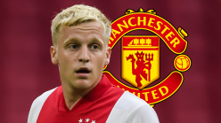 Van de Beek fitting in 'great' at Man Utd as Shaw assesses £35m new boy