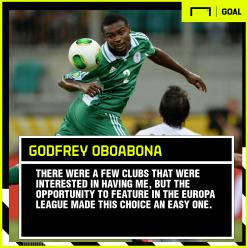Oboabona: Why I joined aspiring Dinamo Batumi