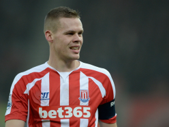 Stoke City captain Shawcross to see a specialist over back injury