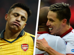 Nasri blames Arsenal woe on players and defends former boss Wenger