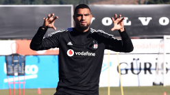 Besiktas forward Kevin-Prince Boateng resumes training