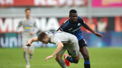 Jamilu Collins scores own goal in Paderborn home defeat to Hertha Berlin