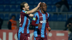 Anthony Nwakaeme contributes an assist as Trabzonspor claim Turkish Super Lig lead