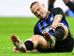 Ankle injury rules Inter star Nainggolan out of Barcelona clash