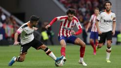 Atletico Madrid 1-1 Valencia: Parejo earns point after Joao Felix injury
