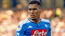 Napoli ace Allan dropped by Gattuso for 'walking around training'