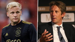 Van de Beek compared to Manchester United legend by Van der Sar