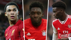 Bayern Munich star Davies names Alexander-Arnold and Saka among his favourite full-backs