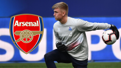 Arsenal set to sign £1.6m goalkeeper Runarsson from Dijon following Martinez exit
