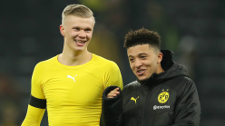 Haaland: Sancho is a hell of a player and will be important for Borussia Dortmund this season
