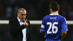 Avram Grant reveals what he told Terry after Chelsea captain