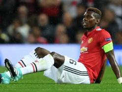 Mourinho says Pogba could miss Everton clash after apparent hamstring injury