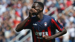 Simy Nwankwo warns Crotone squad of tough challenge in Serie A