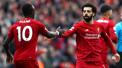 Salah and Mane lead African quartet as Liverpool continue training