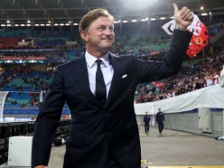 Hasenhuttl: Nervous RB Leipzig satisfied with Champions League point