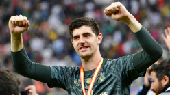 Former Chelsea goalkeeper Courtois says winning with Real Madrid is