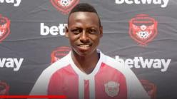 John Byamukama: Express FC sign Ugandan star on two-year deal