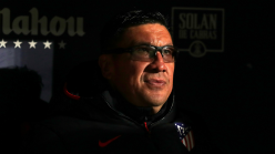 Atletico assistant Burgos to leave and pursue head coach dream
