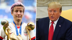 Rapinoe continues Trump feud by labeling U.S. President as