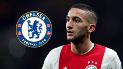 Chelsea move for Ziyech confirmed by Ajax boss Ten Hag