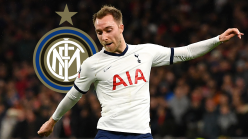 Eriksen leaves Tottenham for Inter in reported €20m deal